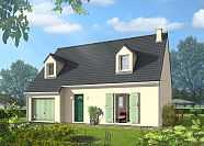 Modèle de maison Maisons avec combles Maison Castor