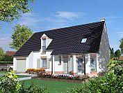 Modèle de maison Maisons avec combles Maison Familiale