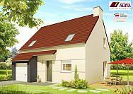 Modèle de maison Plan Maison combles Maisons Aura