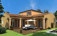 Modèle de maison Maisons méditerranéennes Maisons Clio