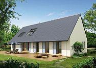 Modèle de maison Maisons avec combles Maisons Phénix