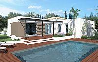 Modèle de maison Maisons à toit plat Toit d'Azur