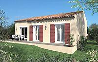 Modèle de maison Maisons de plain pied Toit d'Azur
