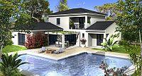 Modèle de maison Maisons à étage Villas Prisme