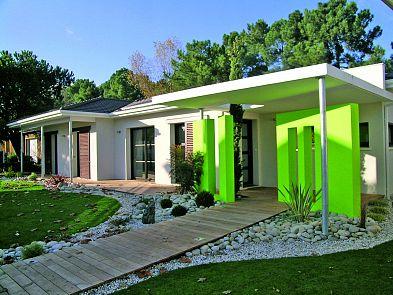 Maisons de plain pied Maisons contemporaines Plan maison toit terrasse Igc construction
