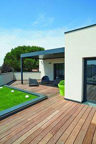 Maisons à étage Maisons contemporaines Plan maison toit terrasse Igc construction