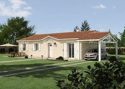 plan maison plain pied plan maison primo acc dant plan maison r gionale maison c t soleil. Black Bedroom Furniture Sets. Home Design Ideas