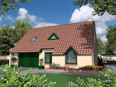 Elegant maisons de plain pied maisons avec combles maisons for Modele maison familiale