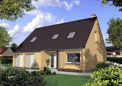 perfect maisons de plain pied maisons primo accdant maisons avec combles maisons rgionales. Black Bedroom Furniture Sets. Home Design Ideas