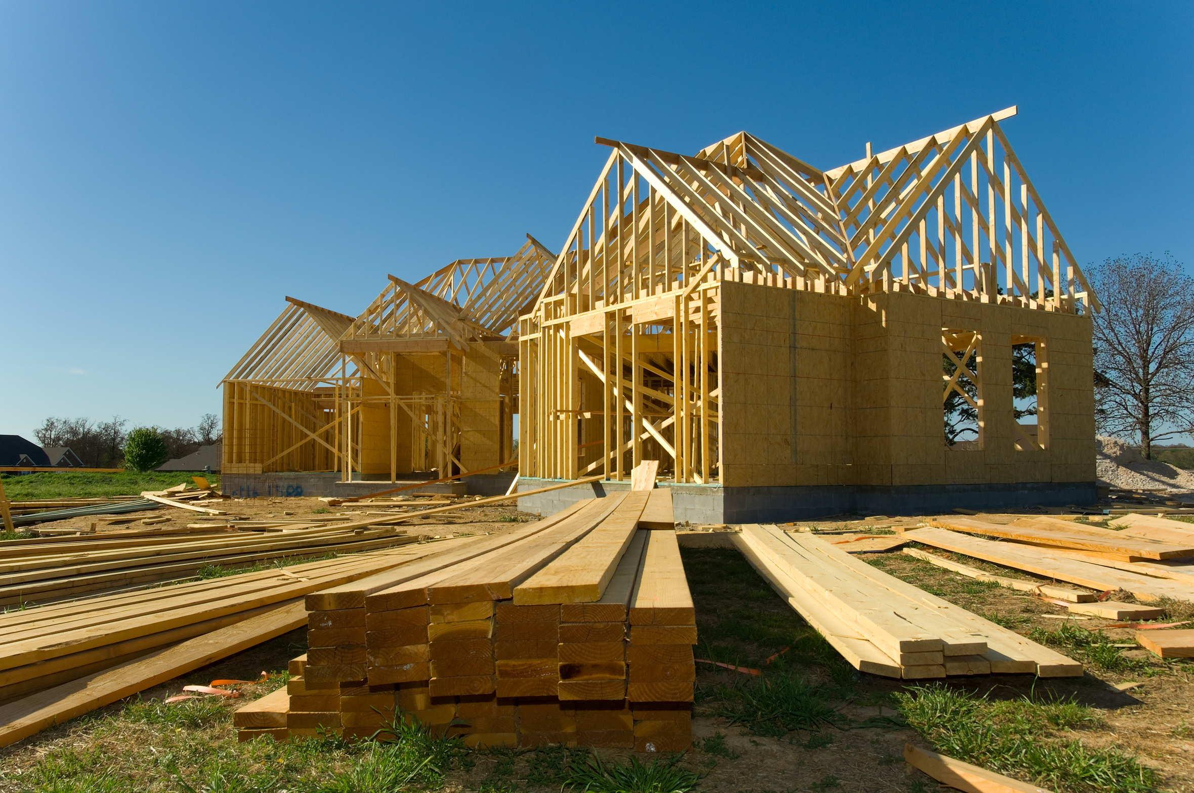 Maison bois toutes les techniques de construction for Maison construction