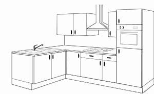 implantation cuisine en i - Exemple Dimplantation Cuisine